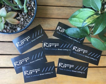 RiFF Apparel Co. 2 for 3 Dollars Stickers