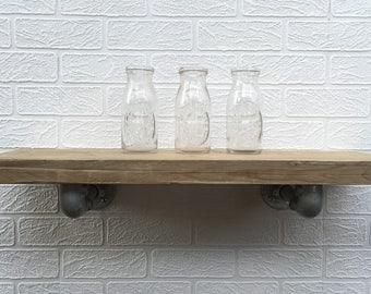 Rustic Industrial Shelf