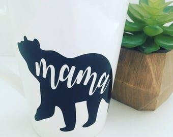 "Mother's Day coffee mug, ""Mama Bear"""