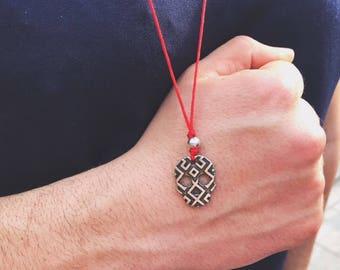 Men's Necklace, Skull Necklace, Skull Pendant, Metal Skull, Skull Jewelry, Silver Necklace, Silver Jewelry, Greek Jewelry, Made in Greece