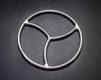 Shibari Ring Shibari Ring for Bonadge Play Shibari Kinbaku Triskele Ring