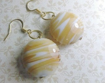 Caramel Cream Earrings