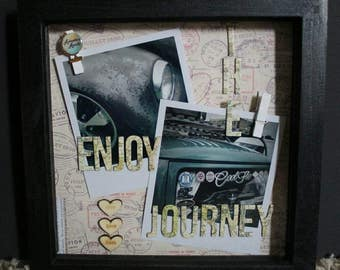Enjoy The Journey Pegged Picture