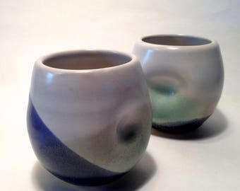 Set of Two Stemless Wine Glasses