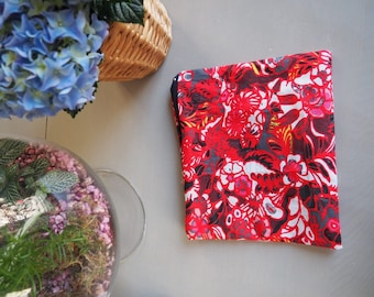 Tropical floral sleeve 100% cotton