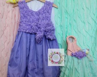 Girls Twirl Birthday Dress