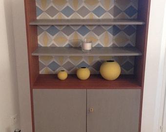 Vintage display cabinet bookcase