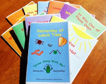 Draw-Along Books for Children by Picklehead Press