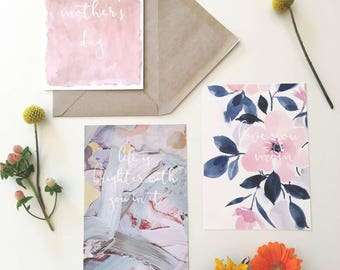 Mother's Day Cards, 3pk