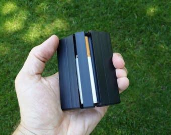Plastic Accordion Cigarette Case