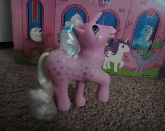 Vintage My Little Pony Milky Way Unicorn TAF 1980s G1