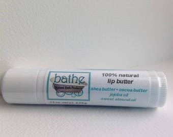 100% natural lip butter