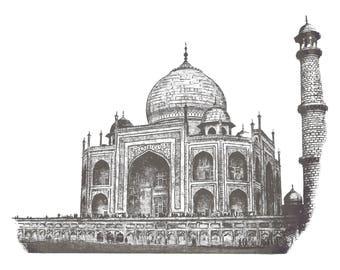 Taj Mahal giclée print