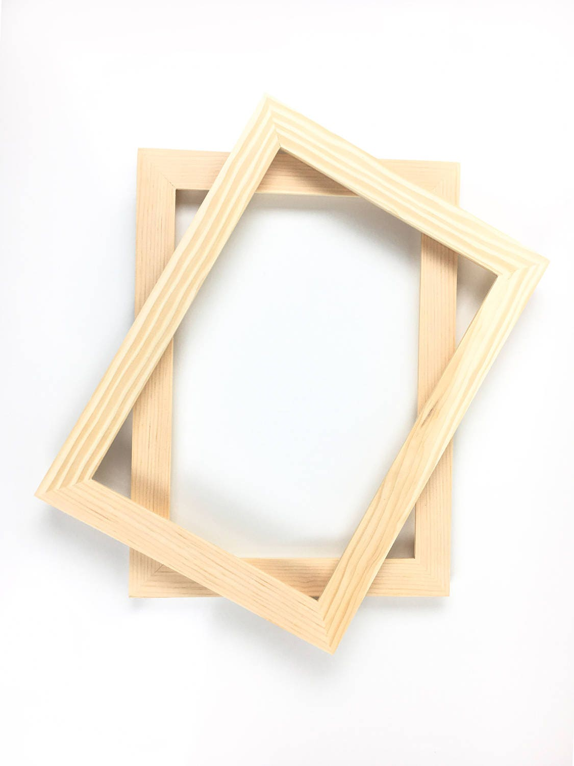 Unfinished wood picture frames craft - 9x12 Frames Hardware And Gl Wood For Blank
