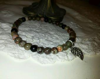 Nature Ocean Agate Bracelet