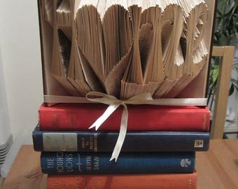 Home Folded book - Book origami house warming gift