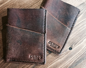 Handmade Full Grain Leather Wallet