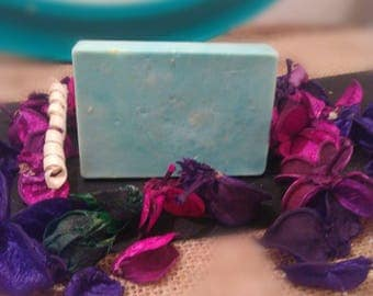 orange scented oatmeal soap