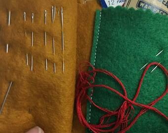 Wool Felt Needle Keeper
