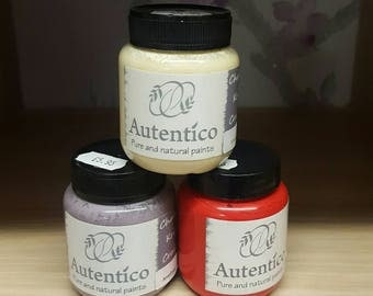 Autentico Reds & Yellows Paints