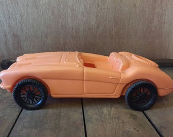 Early 60's A.J. Renzi Austin Healey Convertable.   This vintage toy is I'm exceptional condition!