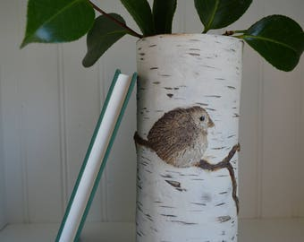Small Birch Vase
