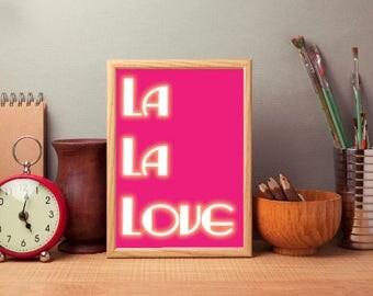La La Land ( Or Love? ) Poster