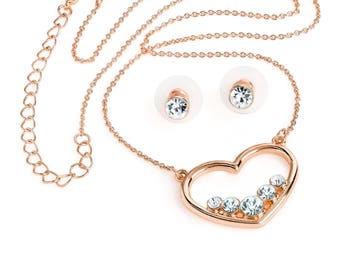 Naples Necklace and Earring Set