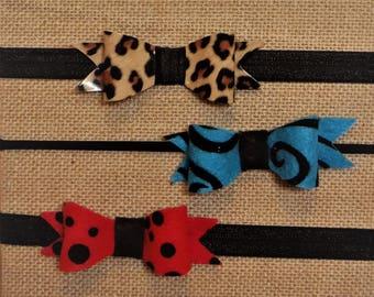Felt Bow Headband Set
