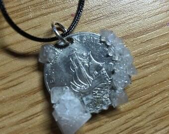 East Caribbean crystal coin