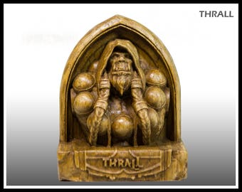 Wooden, Thrall, hearthstone, warcraft, wow, world of warcraft, wow hero, wow statue, wow figurine, shaman, orc, horde