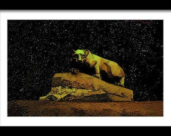 Penn State Lions in Stars Limited Edition Print