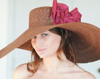 Large Brimmed Hat