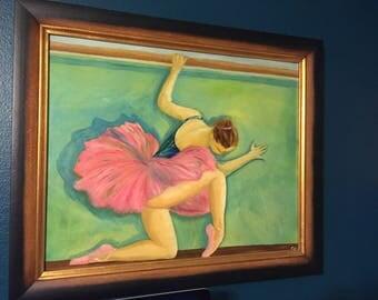 """Oil Painting """"Dance of Degas"""""""
