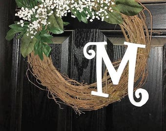 Sweet Baby's Breath Spring and Summer Wreath
