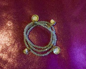 Tea for Two Wrap Around Bracelet