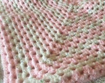 newborn baby crochet blanket