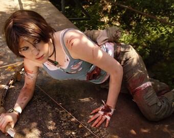 Lara Croft (Tomb Raider) Cosplay print