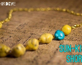 Sun-Kissed Shores Necklace