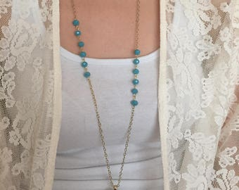 Arrow Pendant Layering Necklace