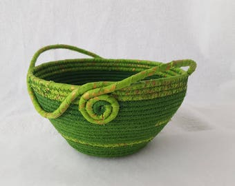 One of a kind handmade pieces...Original handmade designs of fully functional items:baskets, bins and totes