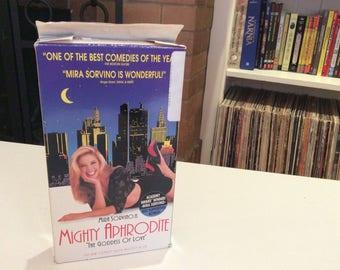 Mighty Aphrodite (1995) Mira Sorvino - VHS Tape - Used
