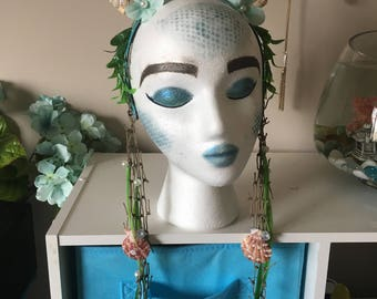 Mermaid headband headpiece