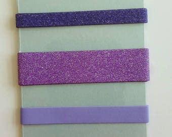 Washi Samples / Washi / Planner Washi / Sample Card / Purples & Pinks