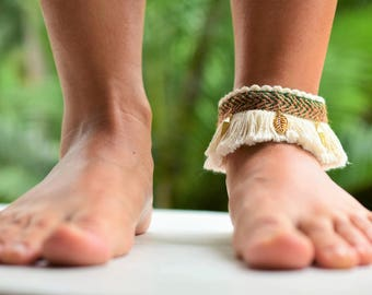 SUMMER Ankle bracelet with COLOMBIAN quality , and HAND made
