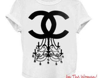 On Sale = Coco Chandelier T-Shirt = On Sale