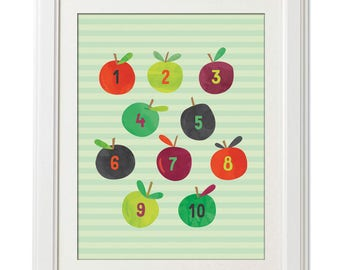 Counting Apples - Green