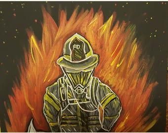 Blazing Fireman