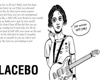 Custom Placebo Poster
