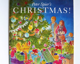 Christmas! by Peter Spier - Children's Book - Christmas Traditions - Book Without Words